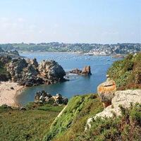 The Bay of Morlaix