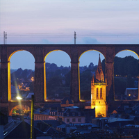 The Viaduc of Morlaix
